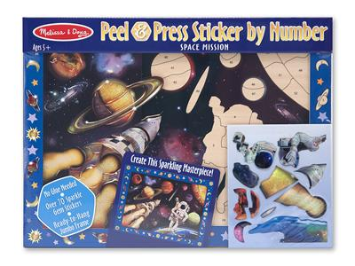 M&D Peel & Stick by Number (Space)-