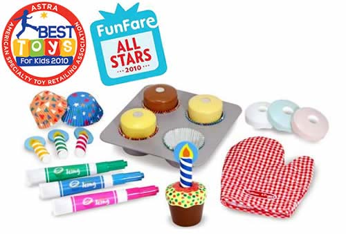 M&D Bake & Decorate Cupcake Set-