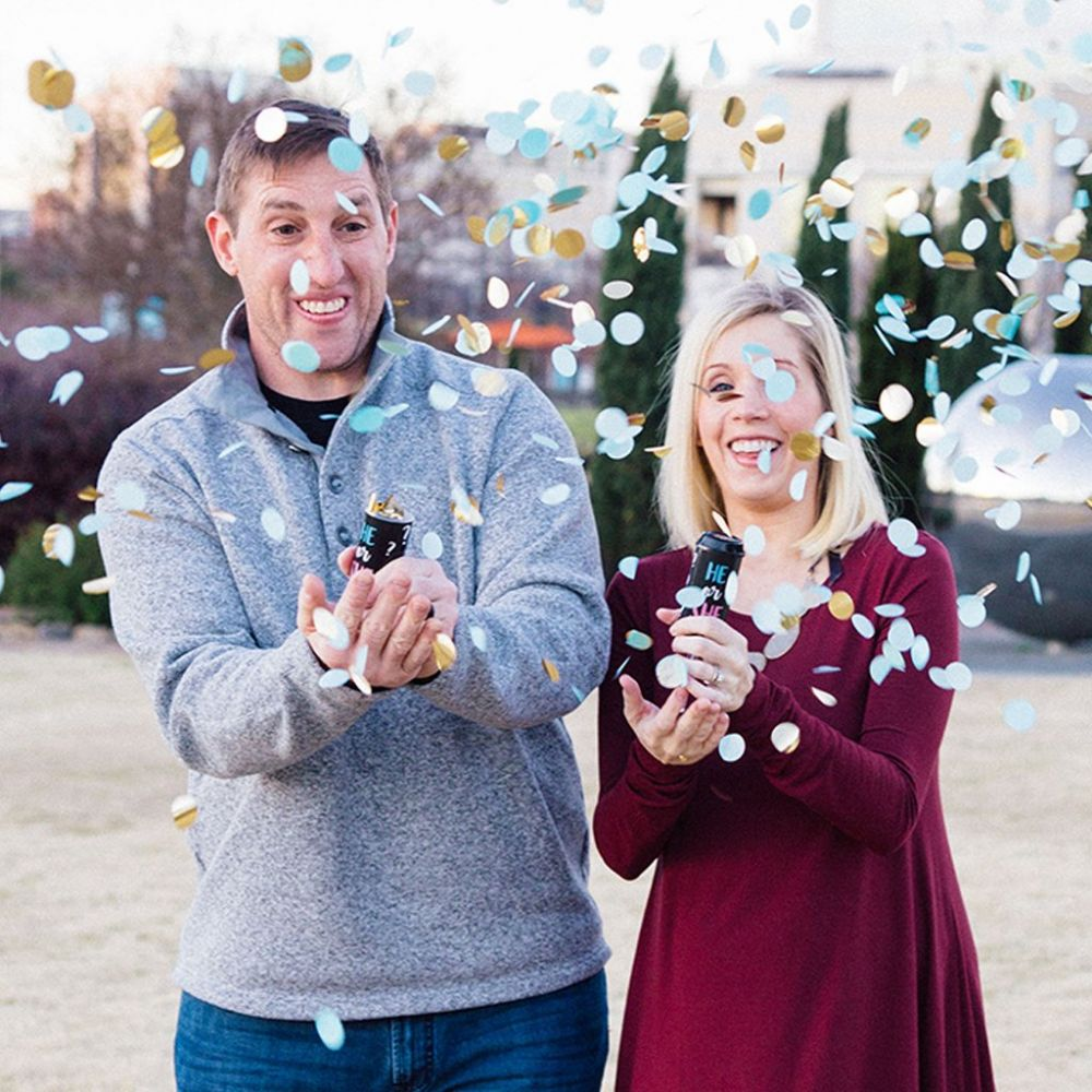 Gender Reveal Confetti Poppers-