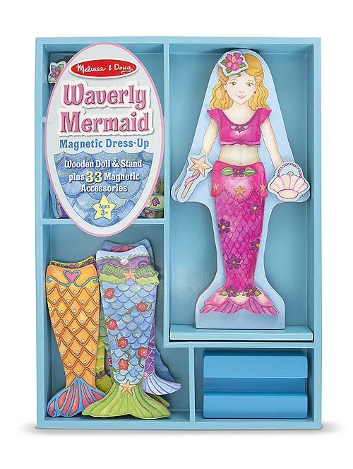 M&D Merry Mermaid Magnetic Dress-Up Set-