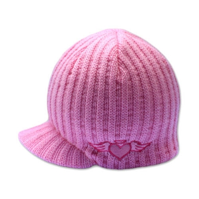 Born to Love Beanie - Pink with Emb (011)-