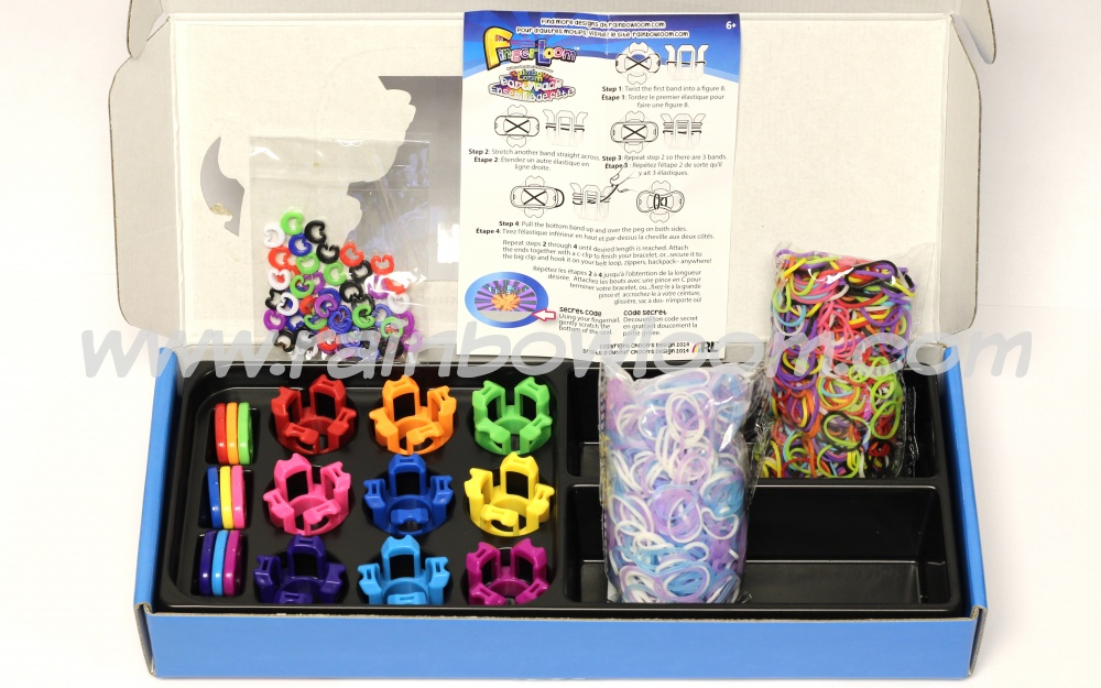 Finger Loom Party Pack-rainbow loom