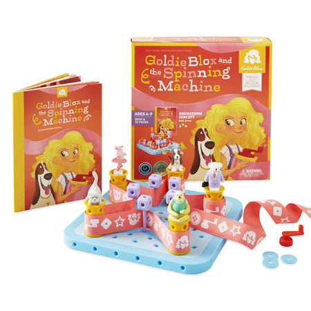 Goldie Blox & the Spinning Machine-
