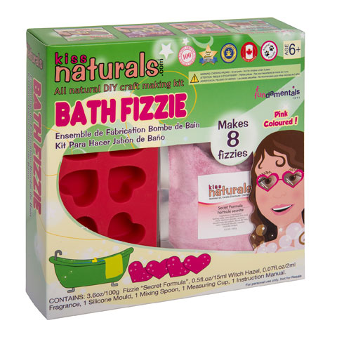 KISS naturals DIY Bath Fizzie Kit-