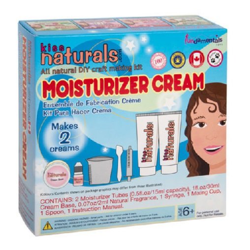 KISS naturals DIY MINI Moisturizer Cream Kit-