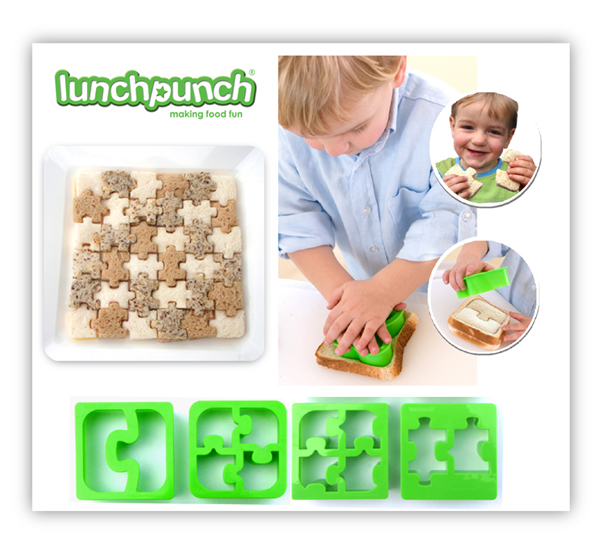Lunch Punch Sandwich Cutter-