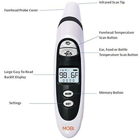 DualScan Prime Ear & Forehead Thermometer-
