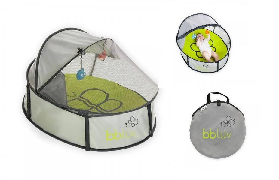 bblüv Nidö Mini -2 in 1 Travel & Play Tent-play tent, portable crib, play pen