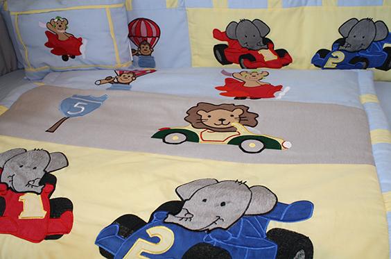 Animal Zoom 9pc Crib Bedding Set-crib, bedding