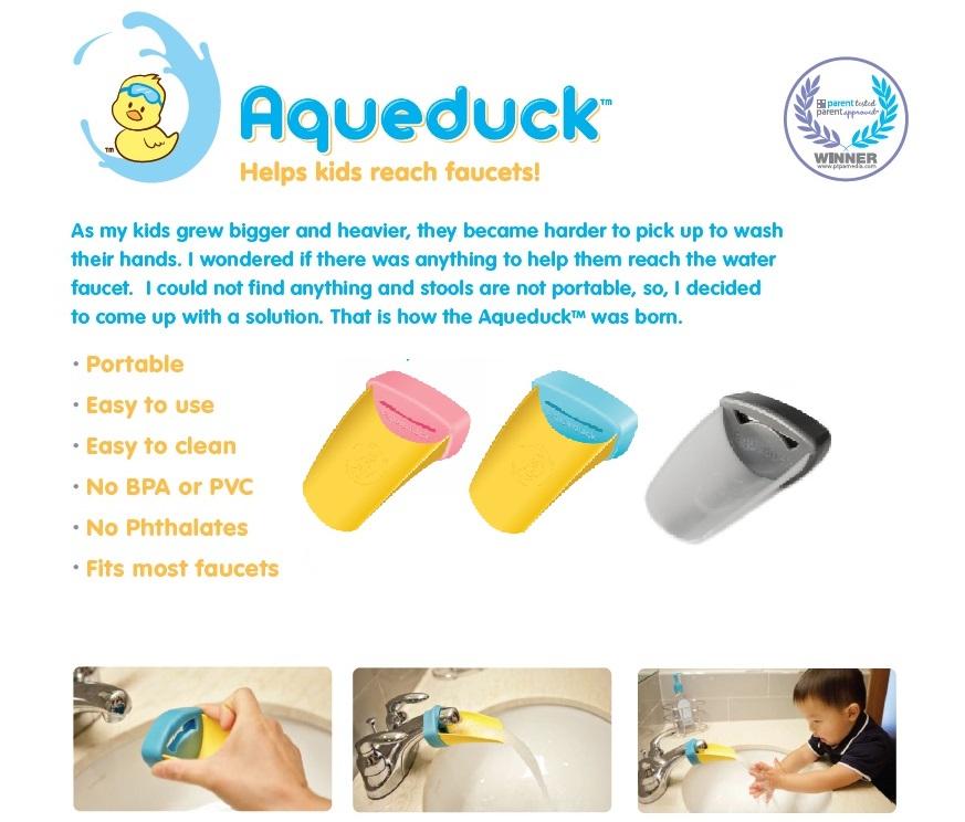 Aqueduck Faucet Extender-