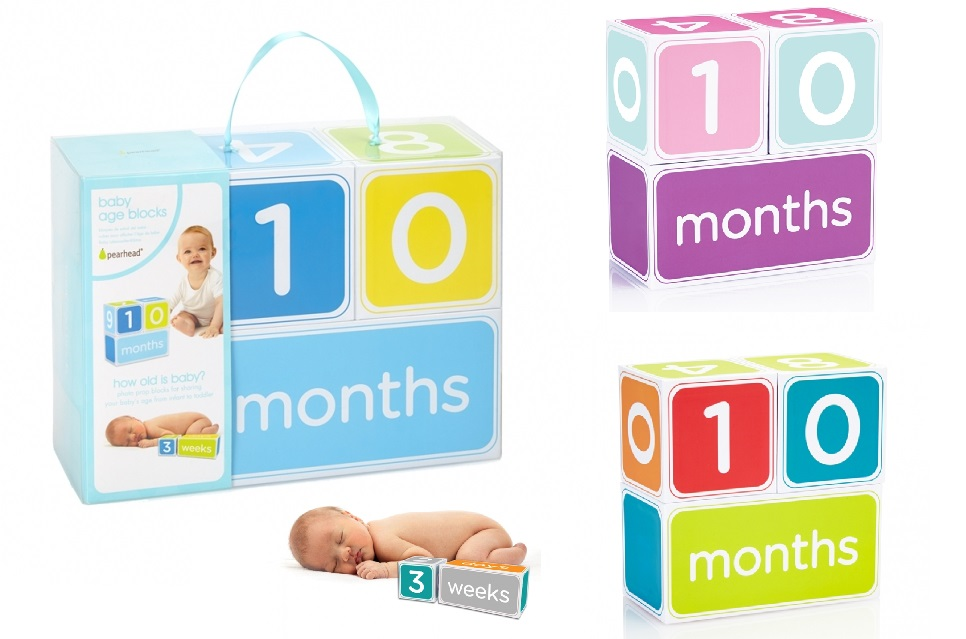 Pearhead Age Block Set-blocks, age, month