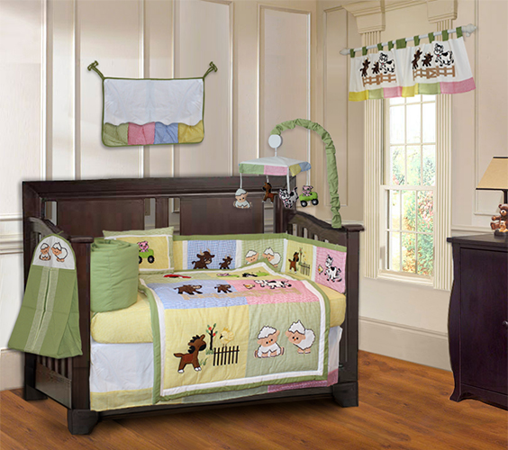 Barnyard 9pc bedding set-