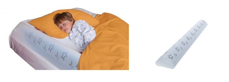 Sleep Secure Inflatable Bed Rail-shrunks, bed rail