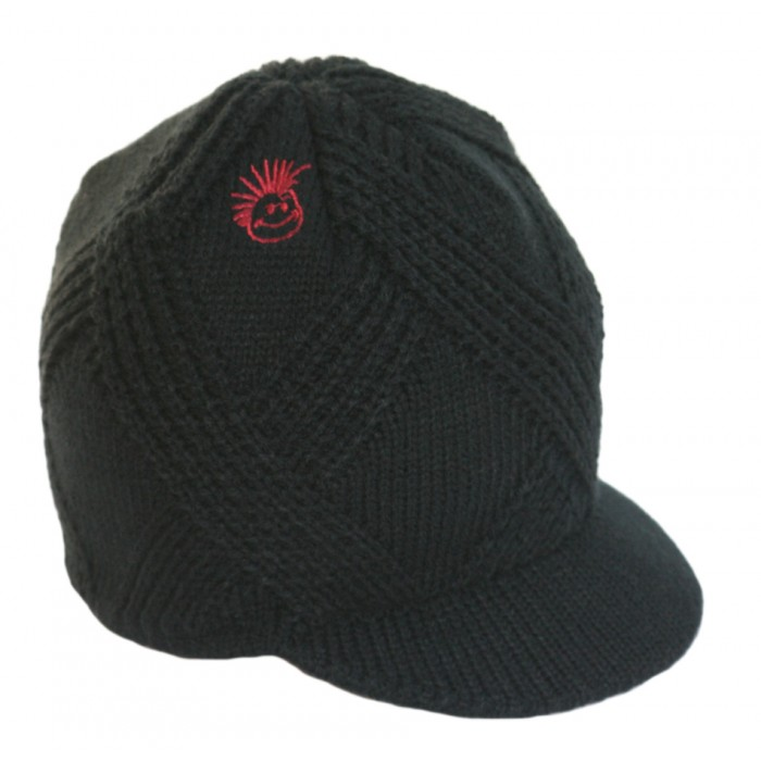 Born to Love Beanie Black Detail-