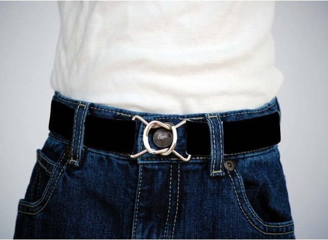Big Kid Belts w/ Silver Buckle-