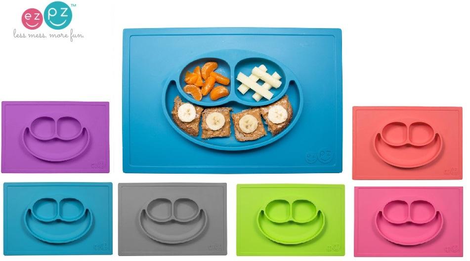 EZPZ Happy Mat-ezpz, silicone mat, food tray