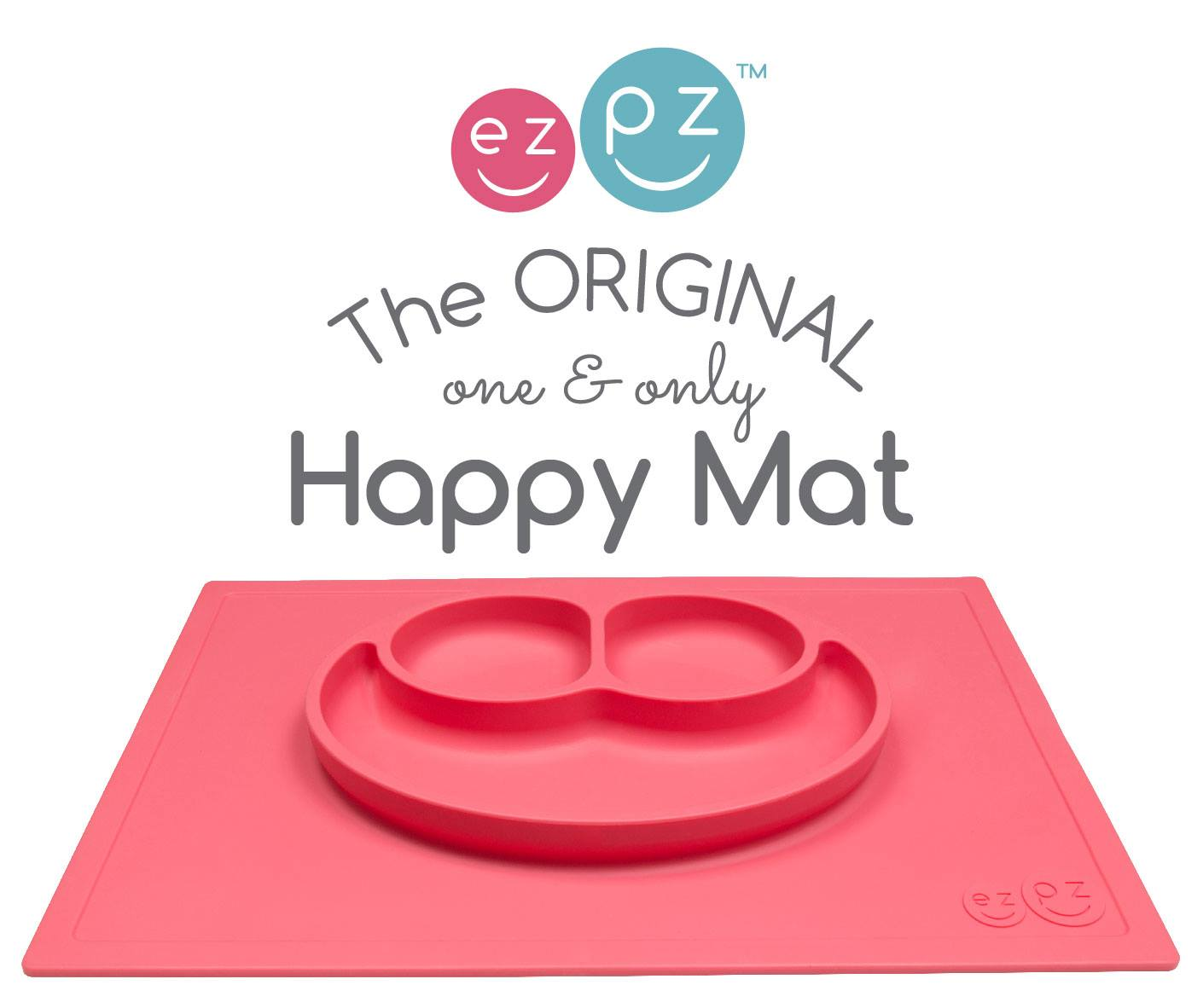 EZPZ Happy Mat-ezpz, silicone mat, food tray