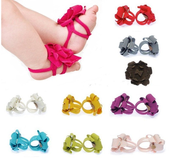 Flower Feet Bands-