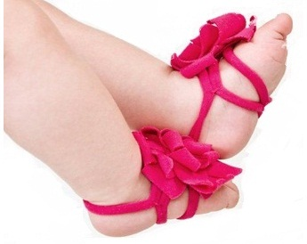 Flower Feet Bands-