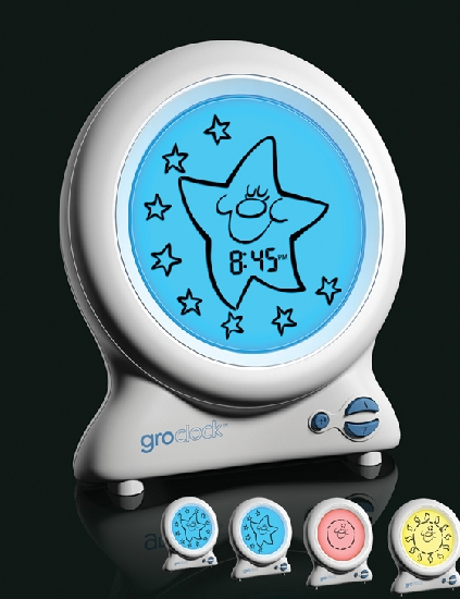 Gro Clock-Gro Clock, groclock, sleep, wake up, sun, moon