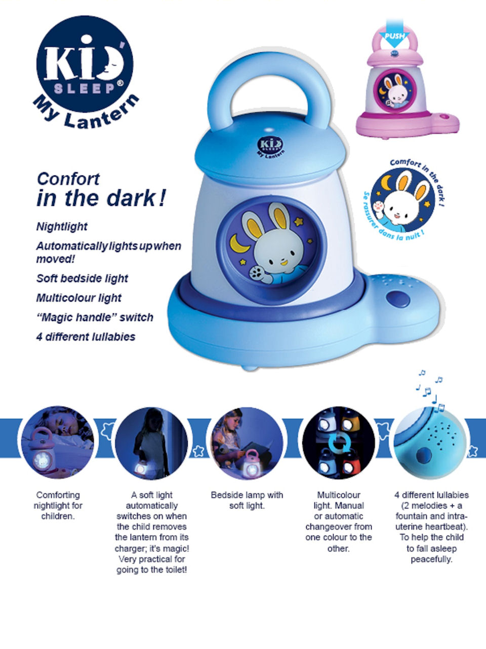 Kid'Sleep My Lantern-