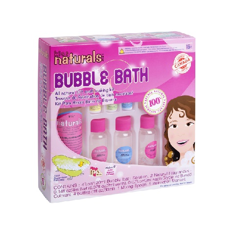 KISS naturals DIY Bubble Bath Kit-