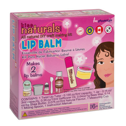 KISS naturals DIY MINI Lip Balm Kit-