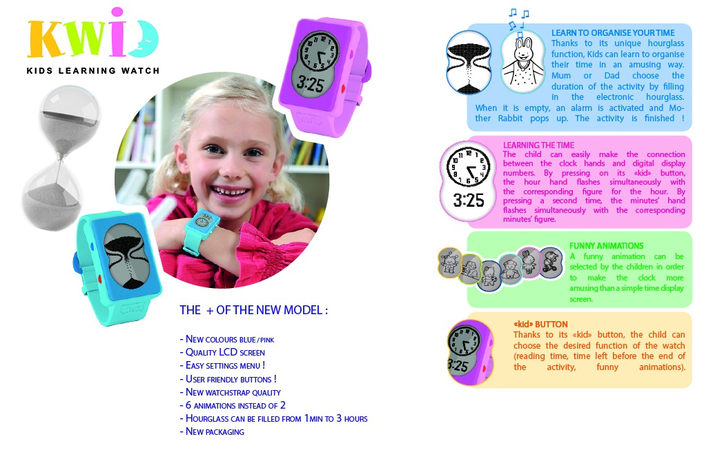 KWID-hourglass watch, kwid, learn to tell time