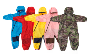 Muddy Buddy-tuffo, rain suit, 1 piece, waterproof, breathable