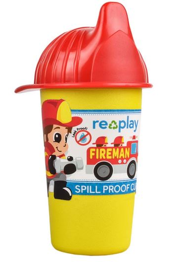 Re-Play Fireman No Spill Sippy Cup-
