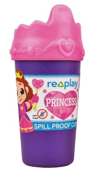 Re-Play Princess No Spill Sippy Cup-