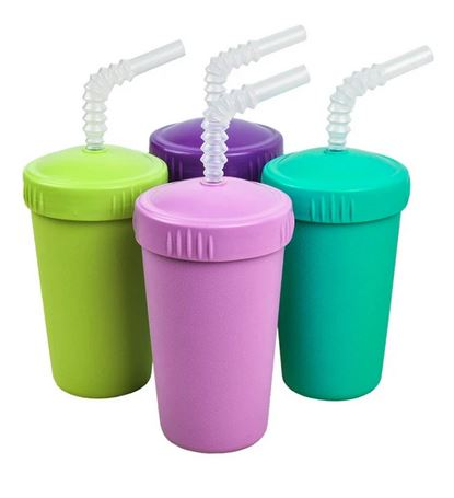Re-Play Straw Cup w Lid-