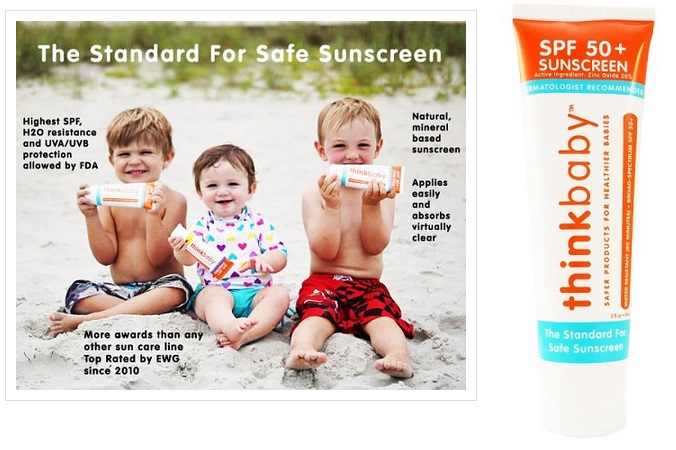 Thinkbaby Safe Sunscreen SPF 50+-sun, sunscreen, suncream