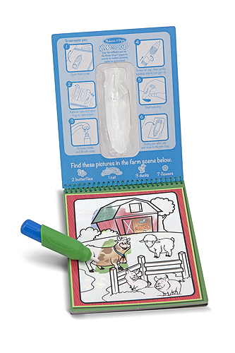 M&D Water WOW! ON the GO Travel Activity-water, aqua, doodle, pen, travel