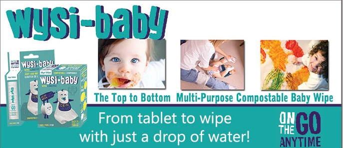 WYSI-baby  Wipes-wipe, wysi, tablet, water
